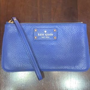 kate spade Berkshire Road Zippered Chrissy - Lapis